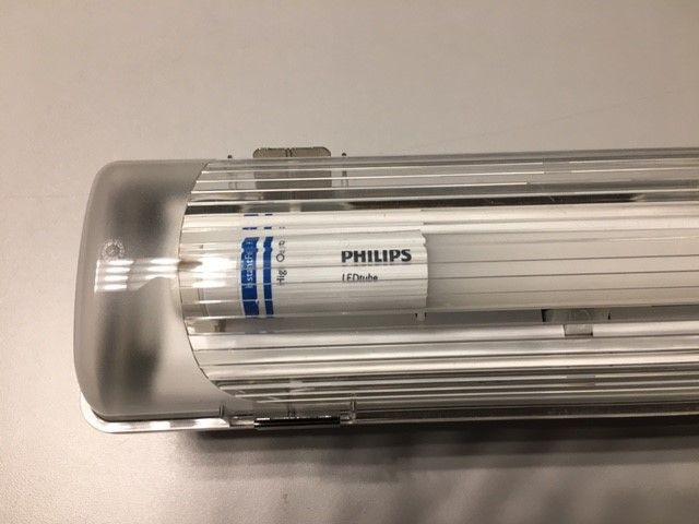Armaturen incl LED-buis
